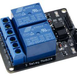 2 Channel Relay Module for control Board Arduino Uno R3 Raspberry Pi