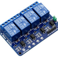 4 Channel 5V Relay Module for Controlling Board Arduino Uno R3 Raspberry Pi Control Board