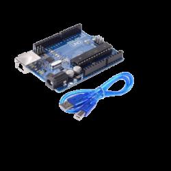 Arduino Uno R3 Mega328P ATMEGA16U2 With USB Cable.