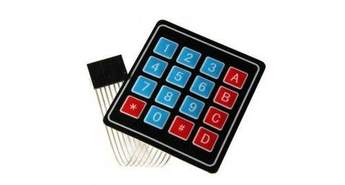 4 Matrix Array 16 Key Membrane Switch Keypad Keyboard for Arduino uno r3