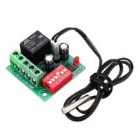 Digital Temperature Control Switch Thermostat Adjustable Thermostat Temperature Switch DC 12V Cooling Controller XH-W1701