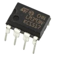 LM393 IC COMPARATOR SO8-SMD