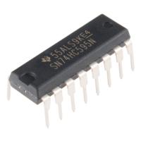 SN74HC595N 8 Bit Shift Register