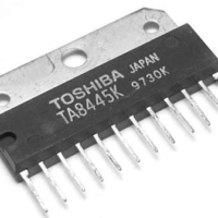 TA8445K TA8445 ZIP-12 Field scan output integrated circuit IC chip TV spare