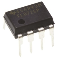 TL072CP LOW NOISE J-FET OP-AMP IC